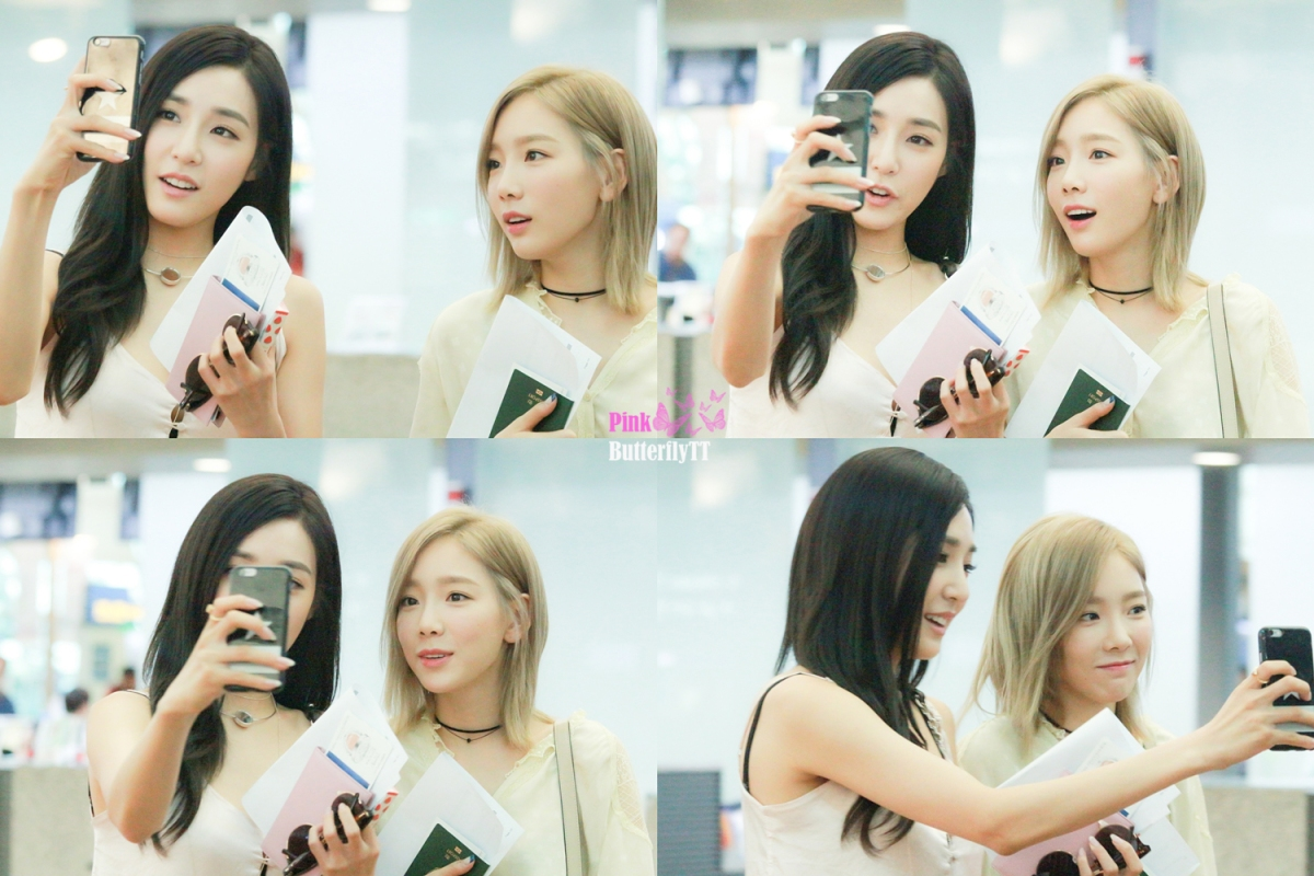 [DL] [160730] TAENY (TAEYEON + TIFFANY) - ICN AIRPORT HEADING TO LOS ANGELES FOR KCON IN LA 2016 💗