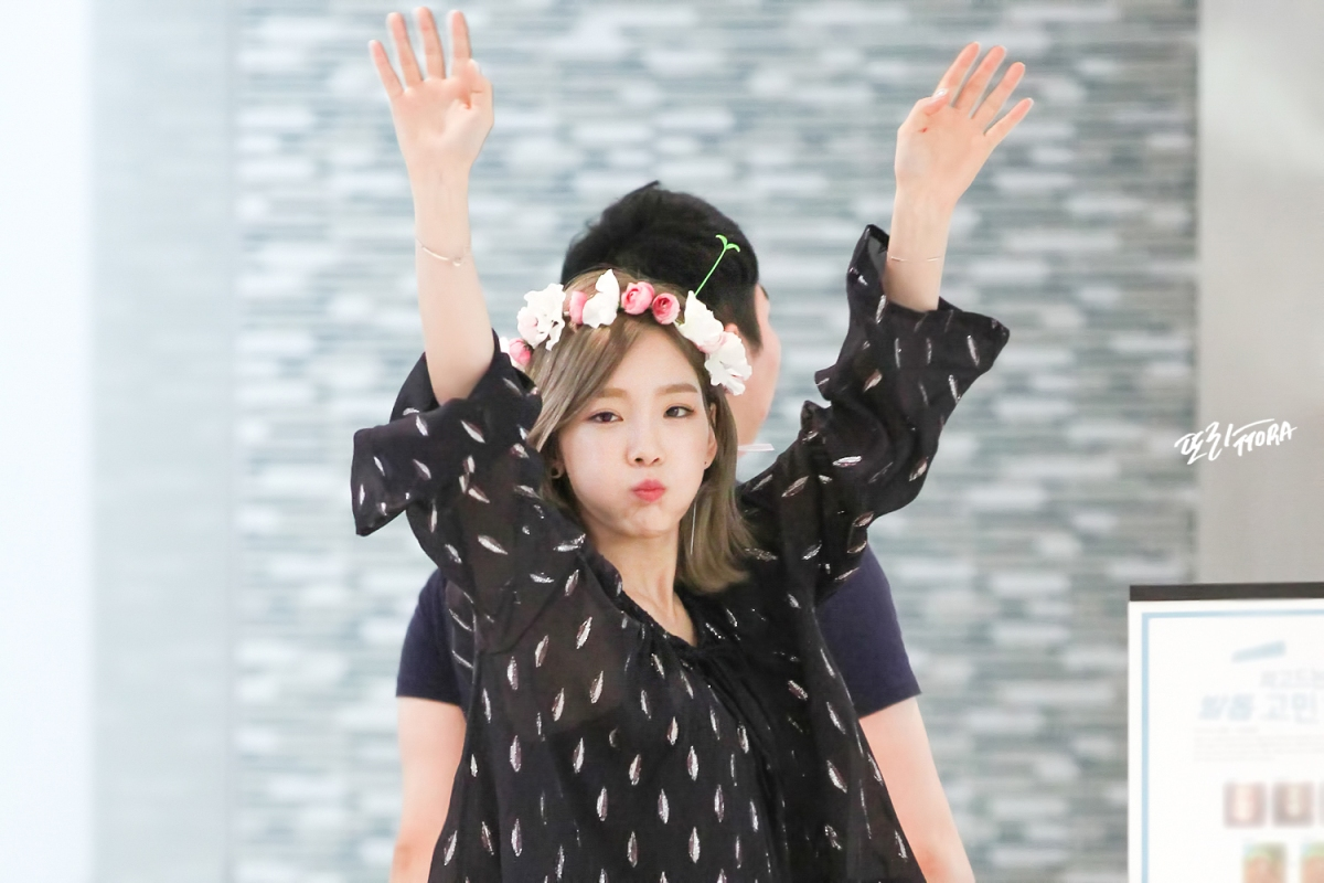 [DL] [160630] Taeyeon - COEX Live Plaza Fansign