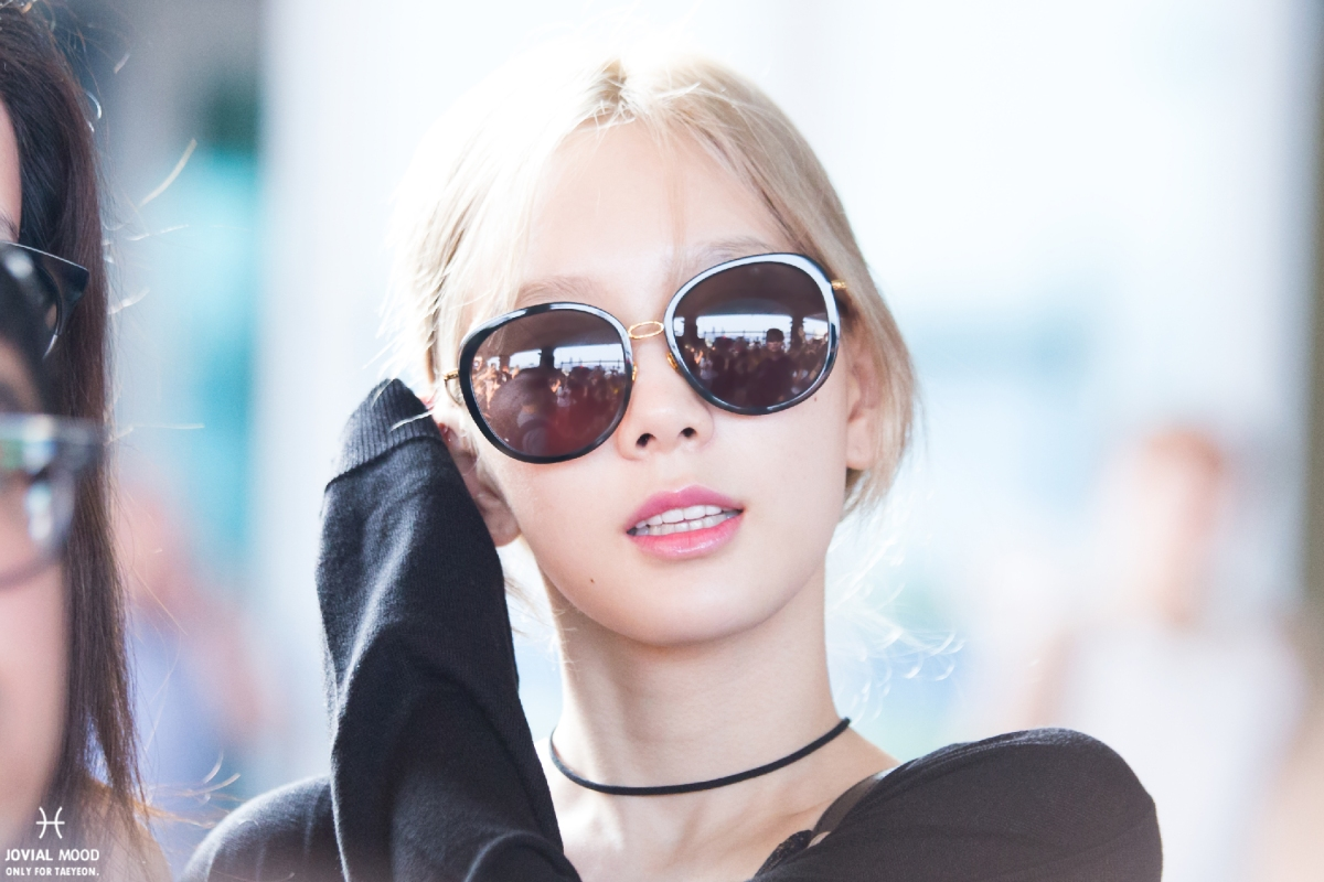[DL] [160803] Taeyeon @ ICN Airport back to Korea from LA
