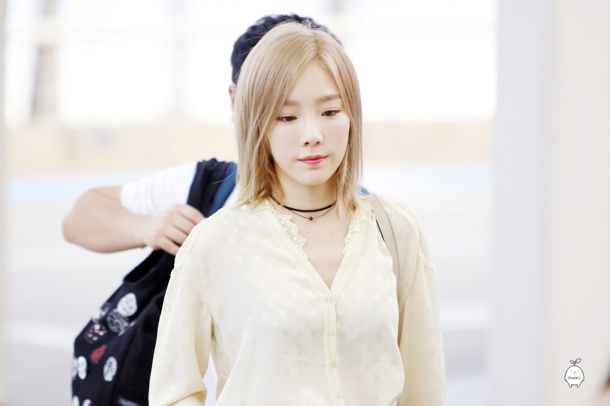[DL] [160730] Taeyeon @ ICN Airport heading to LA