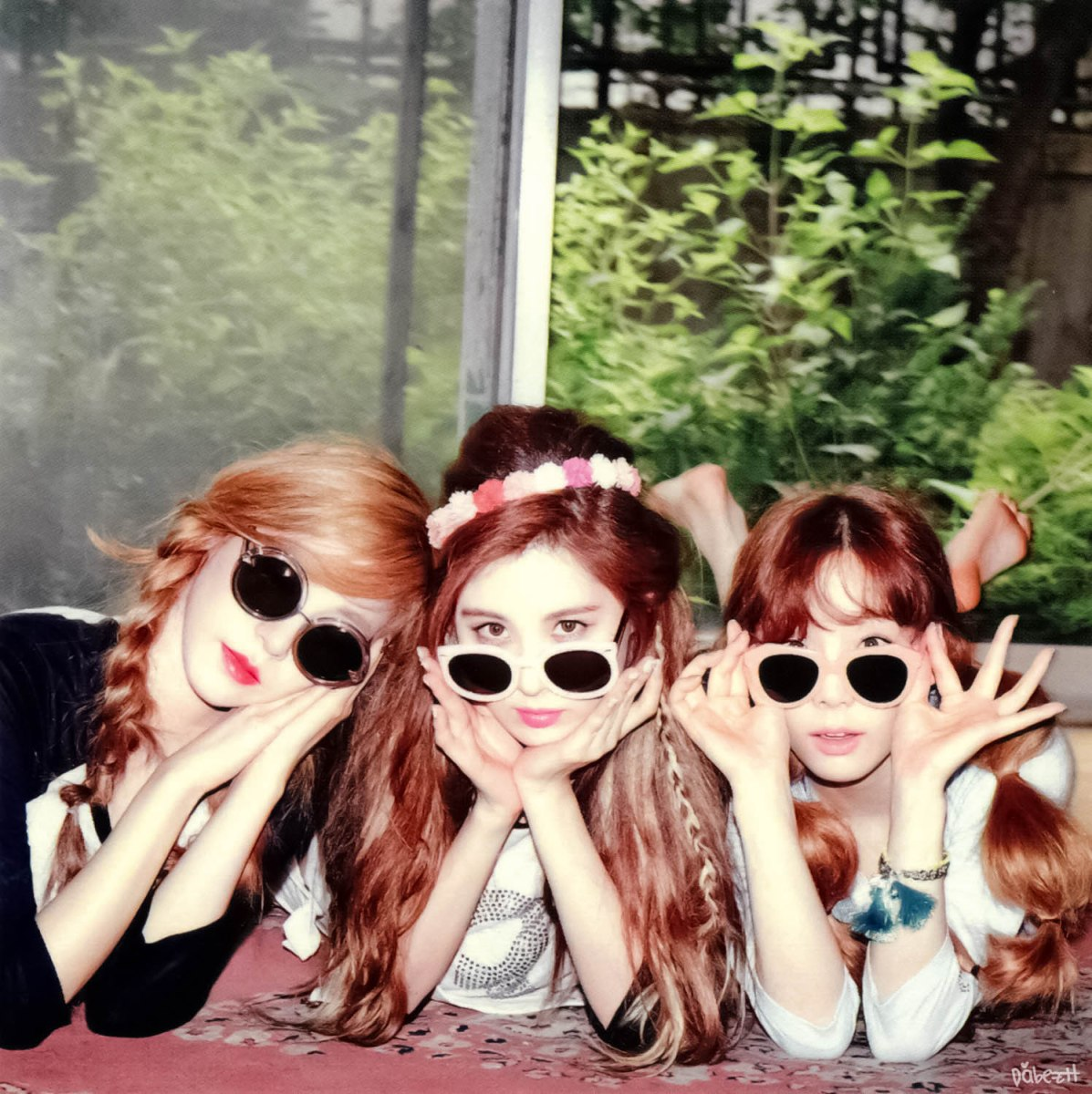 [DL SCAN] TTS - HOLLER Polaroid Set